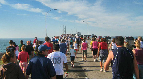 St. Ignace Events | Mackinac Bridge Walk | View of Mackinac | Hotels close to Mackinaw City